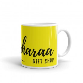 Customised Tea Mug - Yellow